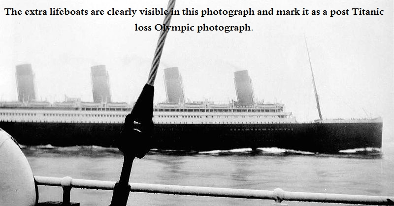 Titanic And Olympic How To Tell Them Apart In Photographs