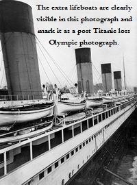 post-titanic loss, rms olympic