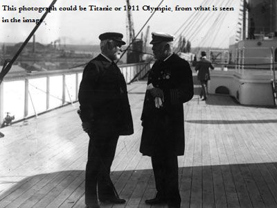 Pre-Titanic loss, Olympic-class boatdeck (Titanic)