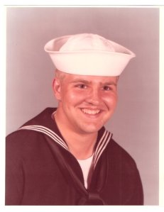 Oct. 1980, first official navy photograph.