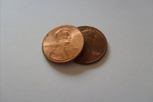 copyright Peter Griffin. http://www.publicdomainpictures.net/view-image.php?image=1516&picture=two-pennies