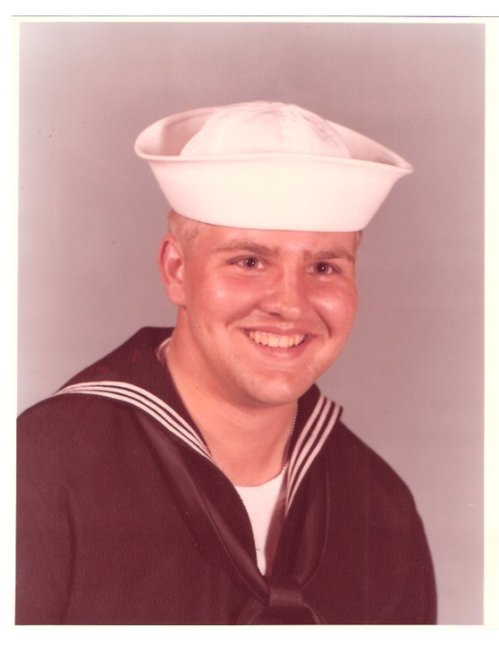 Joe C Combs 2nd First offical navy portrait November 1980.
