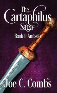 This is the new book cover for The Cartaphilus Saga: Book #1 Amissio.