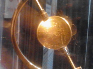 The $20 gold piece that save Lt. Dixon's life at the Battle of Shiloh. His fiancé gave it to him and he kept it as a good luck piece. It was found on him inside the submarine when it was recovered.