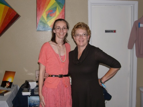Authors Jo Jacobs and Tracy Dunn