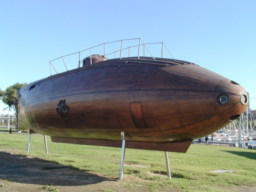 Source of image: Ictineo II replica at the harbour of Barcelona taken on October 2003 Author: Flemming Mahler Larsen