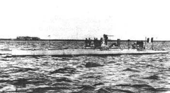 French Narval Submarine, 1900.